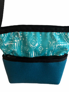 Closeup Of  Dark Teal Purse