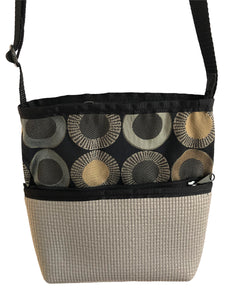 Bernie Gray Crossbody Purse