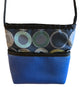 Bernie Royal Blue Sunburst Print Crossbody Purse