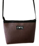 Brown Cosmo Cross Body Purse