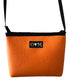 Cosmo Orange Crossbody Bag