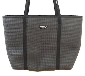 Black tote bag- Merle Medium