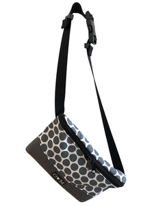 Fanny Pack- gray dots
