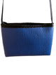 Blue purse with Fleece Fabric