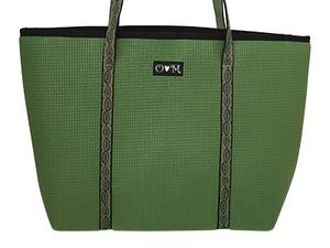 Merle Bright Green Medium Tote Bag