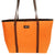 Merle tote in Orange yoga mat made in the USA