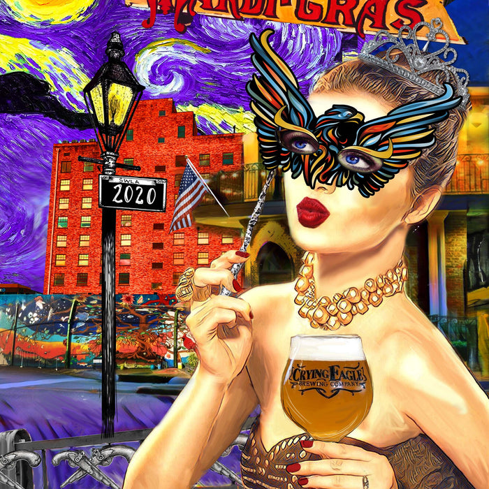 Candice Alexander Unveils 2020 SWLA Official Mardi Gras Poster
