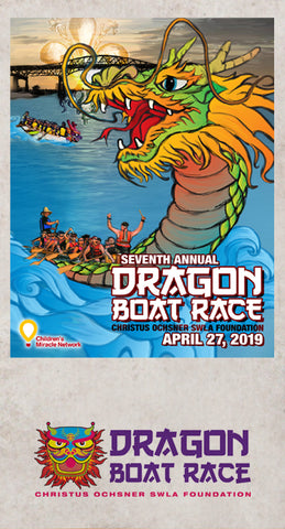 Dragon Boat Race in Lake Charles La, Designed by Candice Alexander