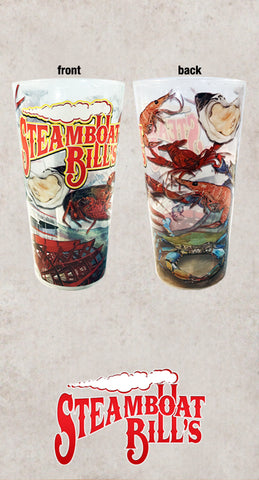 Steamboat Bills in Lake Charles & Houston Cup Designed by Candice Alexander, Fleur De Lis Artist