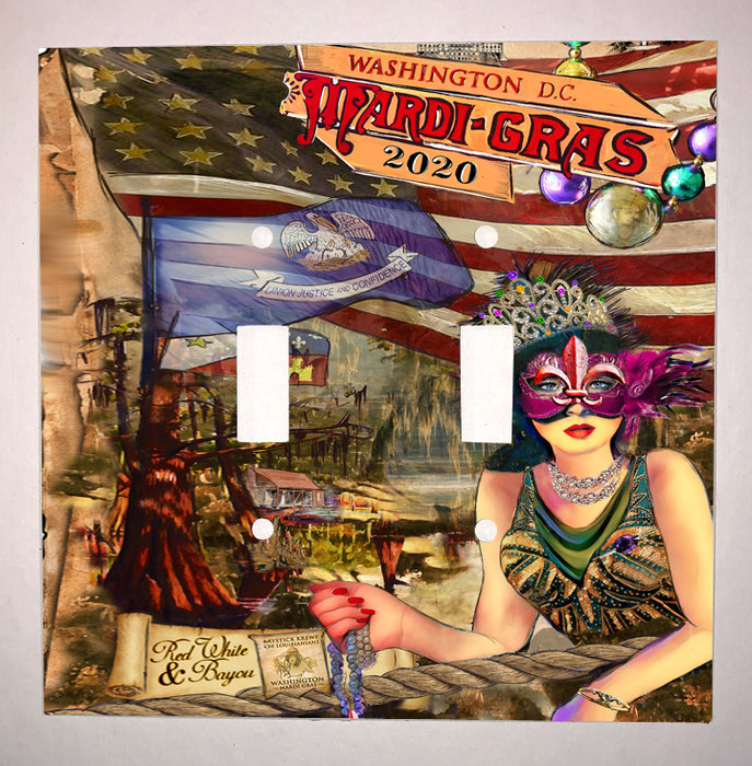 2020 Washington DC Mardi Gras Poster