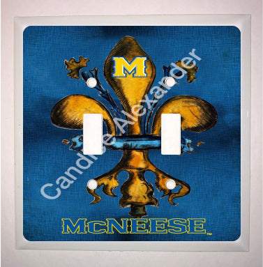 McNeese Blue and Gold No Cap
