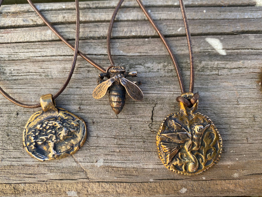 Hummingbird  design by Candice Alexander, Fleur De Lis Artist, Hurricane, SWLA, Jewelry, Honeybee, Tree of Life, Necklace