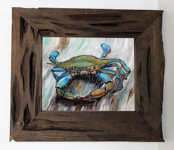 Candice Alexander New Crab Louisiana Cypress Frame