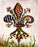 Safari 2 Fleur De Lis design by Candice Alexander Fleur De Lis art by Candice Alexander, Louisiana Artist