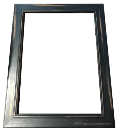 Distressed Black Frame