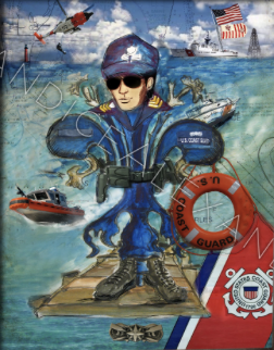 Coast Guard Canvas & Prints