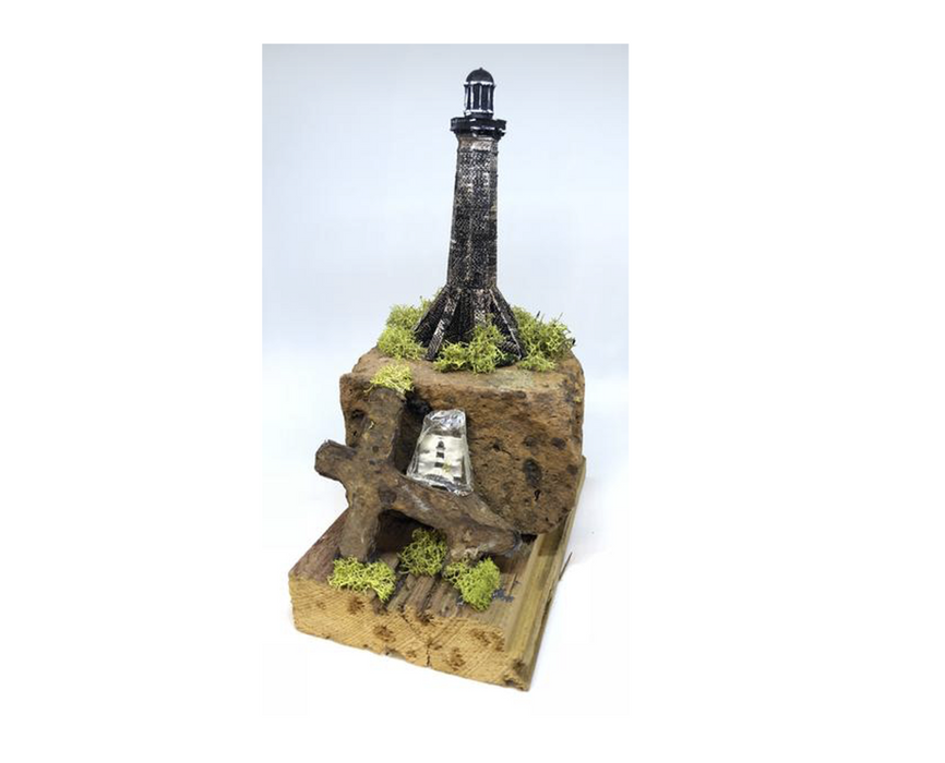 Sabine Pass LightHouse 3D