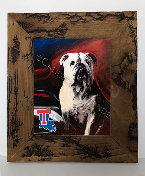 Candice Alexander Louisiana Tech Bull Dog Electrocuted Frame
