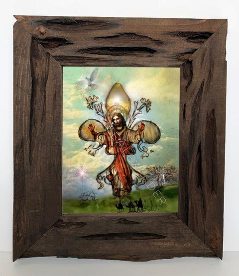 Candice Alexander Fleur De Lis The Story Louisiana Cypress Frame