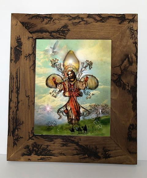 Candice Alexander Fleur De Lis The Story Electrocuted Frame