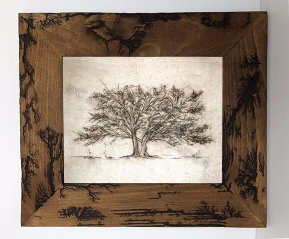 Candice Alexander Tree of Life Electrocuted Frame