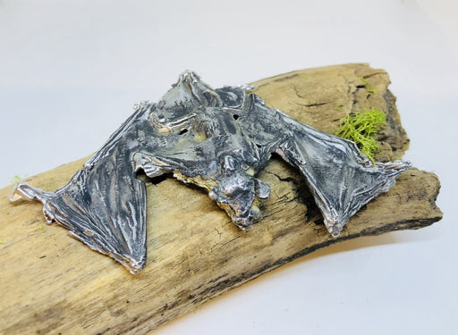 3D Metal Bat Sculpture by Candice Alexander Louisiana Artist