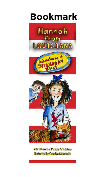 Hannah From Louisiana: Adventures at Steamboat Bills Bookmark