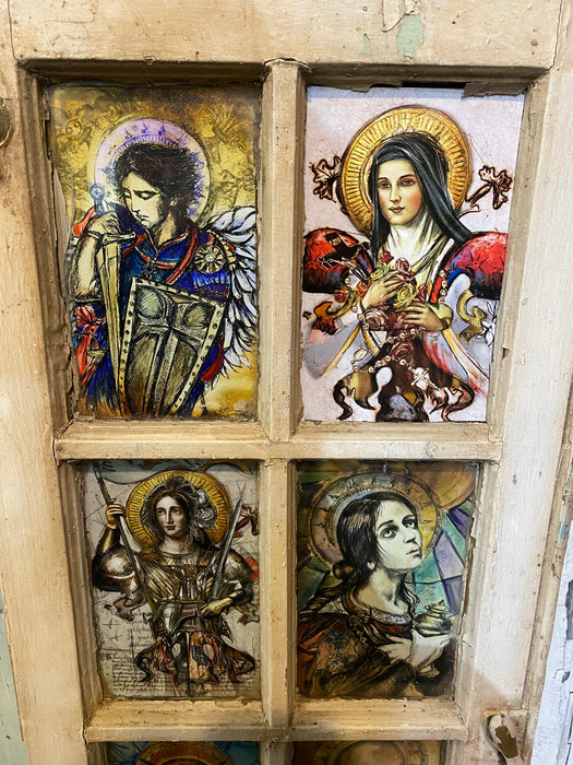 Saint Michael. Saint Teresa, St. Joan of Arc, Mary Magdalene, Saint Cecilia, mary of the Sea, Virgin Mary, Mother Mary, Mother of Jesus, Saint Ralph, Saint Anthony, Easter, Catholic Church, Faith, Religion, Candice Alexander, Lake Charles, Louisiana