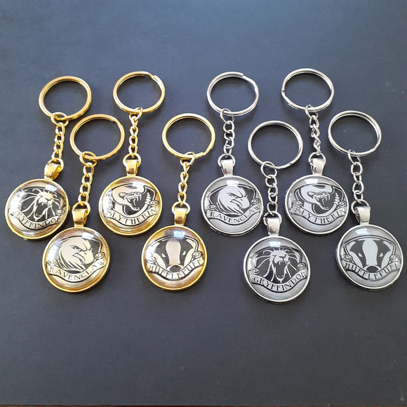 House Crest Keychains