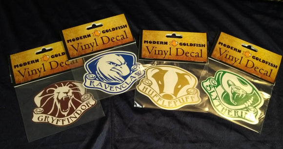Hogwarts House Inspired Decals