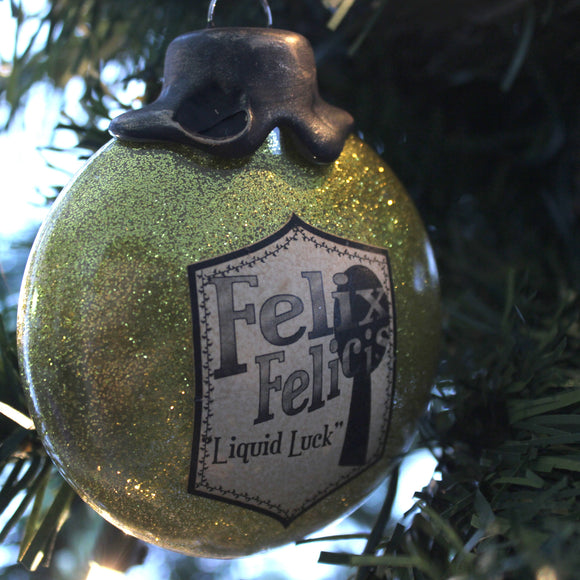 Felix Felicis Potion Ornaments for your Yuletide decorating.
