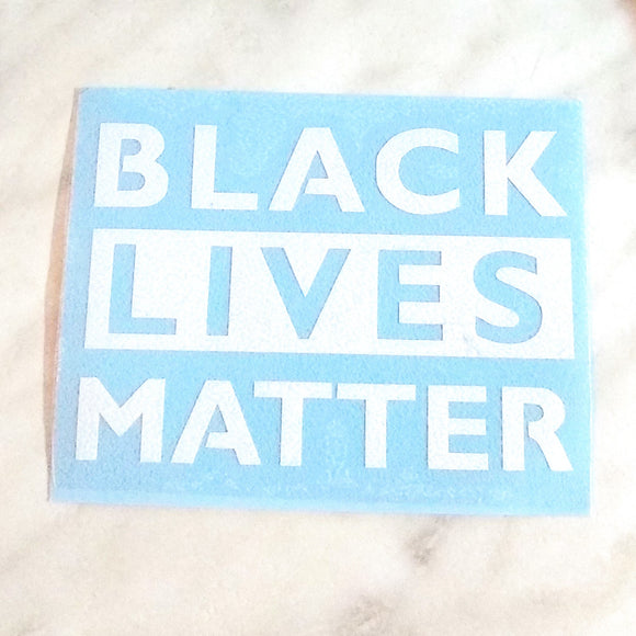 Black Lives Matter Free Decal
