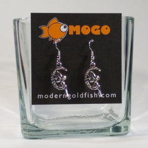 Fairies on the Moon Earrings