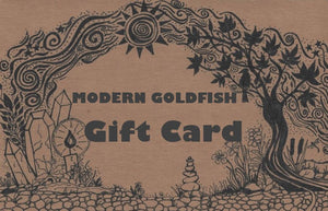 Purchase a moderngoldfish gift card.