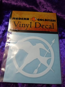 Mockingjay Decal