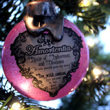 Amortentia Potion Ornaments for your Yuletide decorating.