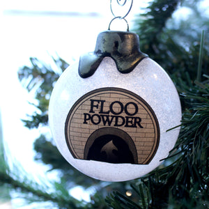 Floo Powder Potion Ornaments for your Yuletide decorating.