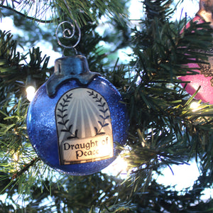 Draught of Peace Potion Ornaments for your Yuletide decorating.