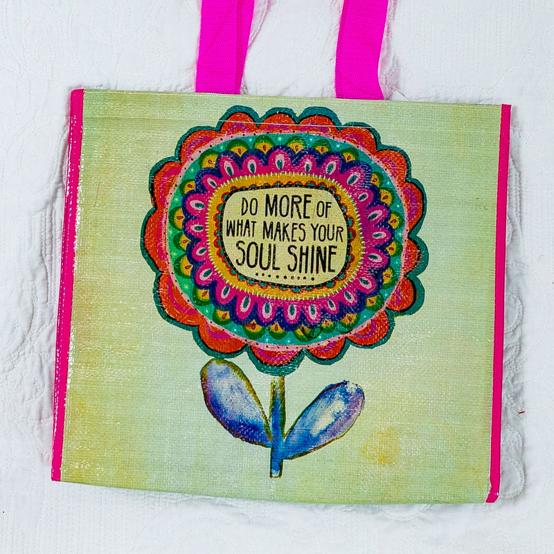 Natural Life Cooler Tote-Make Soul Happy