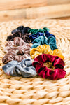 Velvet Scrunchies - Multiple Options