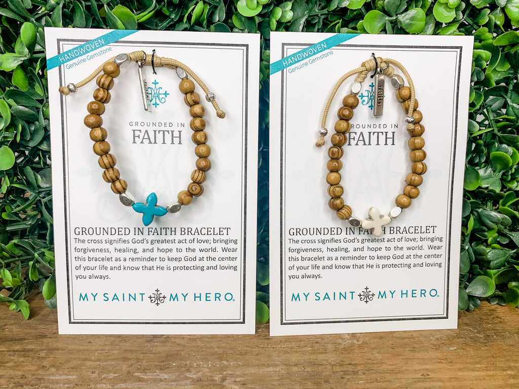 Grounded in Faith Bracelet