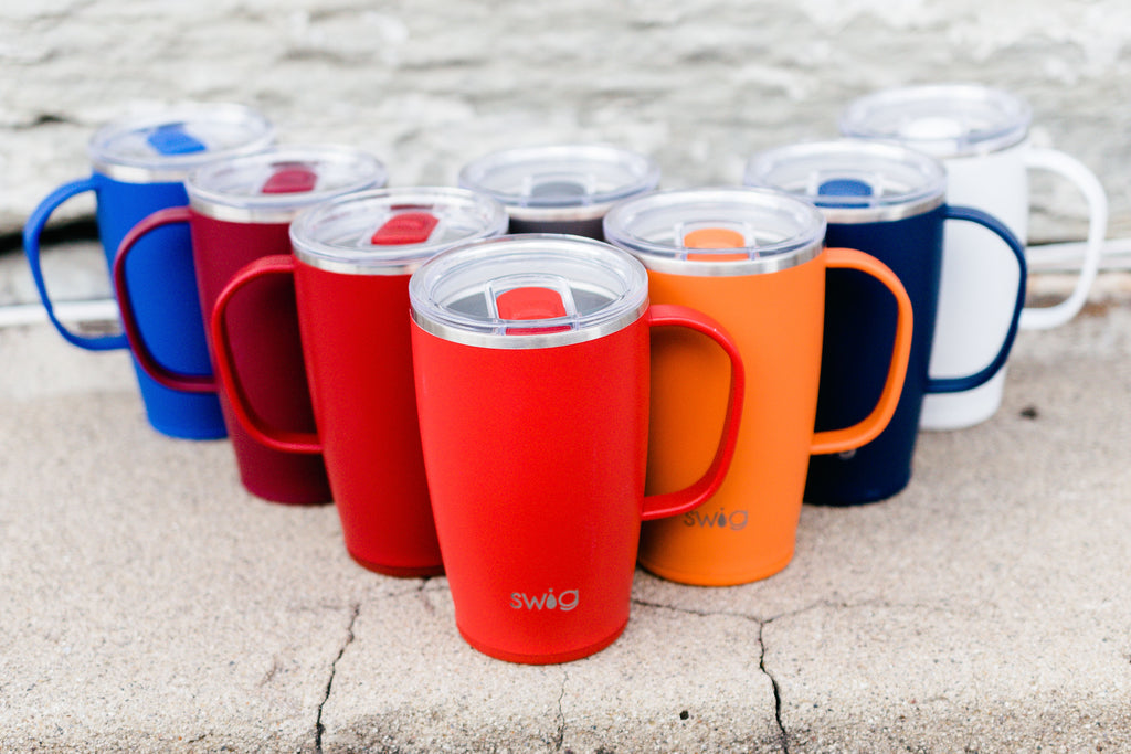 Matte 18oz. Swig Mug - Multiple Options