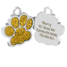 Load image into Gallery viewer, Customized Engraved Dog Tags Collar Tag