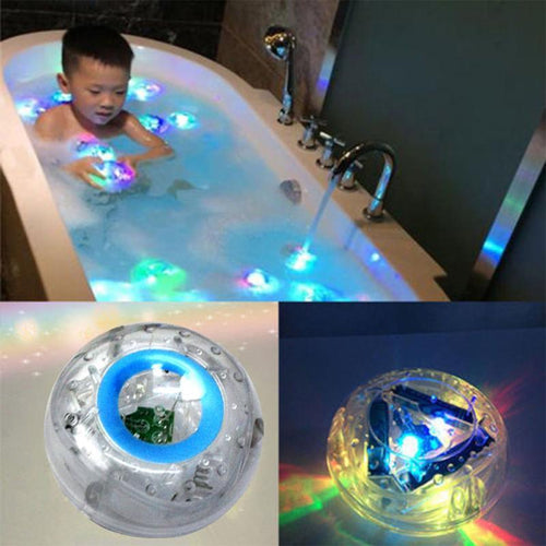 Party in the tub toy bath water led light kids waterproof
