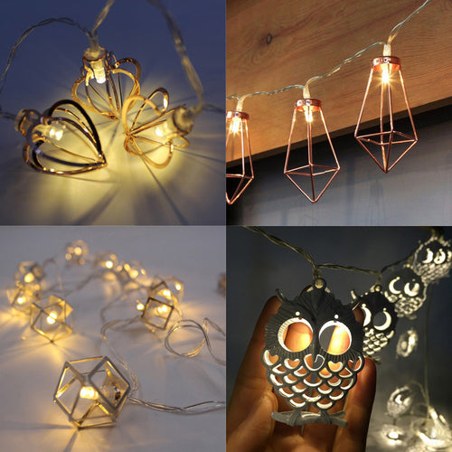 10 LED Party Decor Outdoor Fairy String Light Lamp
