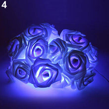 Load image into Gallery viewer, 20 LED Rose Flower String Lights