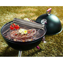 Load image into Gallery viewer, BBQ Stainless Steel Perforated Mesh Smoke Gadget Barbecue Round/Square Tube Tool