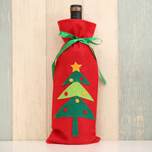 Load image into Gallery viewer, Christmas Wine Bottle Gift Bag
