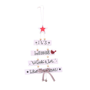Christmas Tree-Shaped Hanging Ornament
