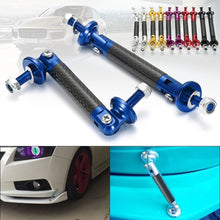 Load image into Gallery viewer, 2Pcs Universal Car Front/Rear Frame Bumper Lip Protector Rod Support Bars Decor